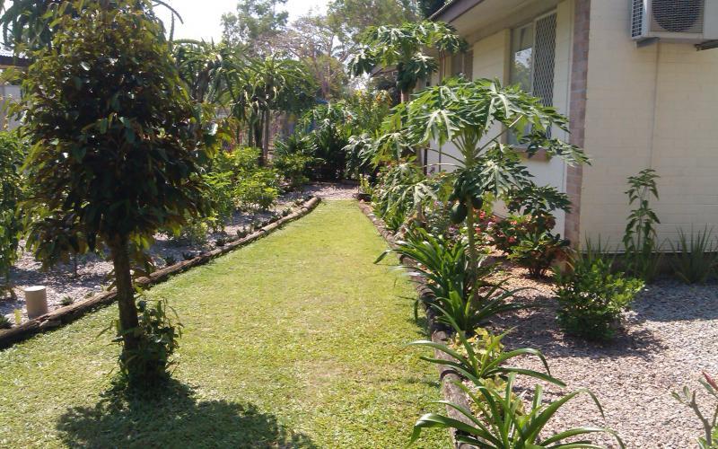 An attractive well maintained gardens